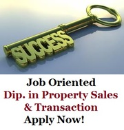 Placement oriented Diploma in Real Estate Sales & Transaction