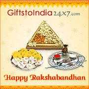 Send Special Rakhi Thalis to India