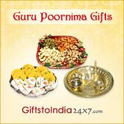 Send gifts on Guru Poornima Day to India