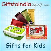 Delight your dear kids by sending attractive gifts