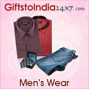 Mesmerise your loved ones with attractive men's wear