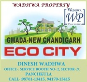 ECO CITY GAMADA PLOTS IN MULLANPUR