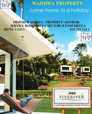 IREO FIVERIVER PLOTS ,  VILLAS & FLOORS IN PINJORE.