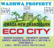 ECOCITY  PLOTS IN NEW CHANDIGARH