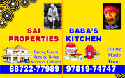 SAI PROPERTIES Offers FOR RENT,  1/2/3 BHK FLATS / HOUSES at ZIRAKPUR