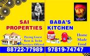 SAI PROPERTIES Offers FOR RENT,  1/2/3/ BHK FLATS / HOUSES at ZIRAKPUR