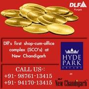 DLF Hyde Park Arcade SCO's Plots Mullanpur,  New Chandigarh