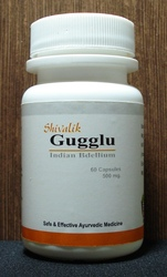 Gugglu extract capsules