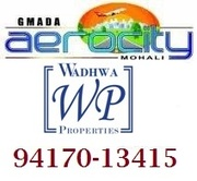 GMADA Aerocity Plots at Mohali,  Chandigarh