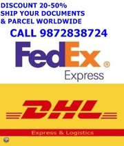 INTERNATIONAL COURIER SERVICE IN MOHALI DISCOUNT 20- 50 %
