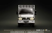 Eicher 11.14 is India's first highly fuel efficient 9.5T payload truck