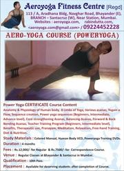 Power yoga Trainer Correspondence Course: