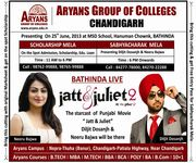 Bathinda live  jatt and juliet2