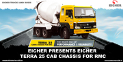 Eicher Presents EICHER TERRA 25 Cab Chassis for RMC