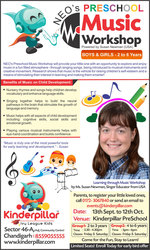 Kinderpillar Preschool Music Workshop