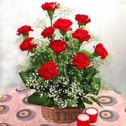 Send Karwa Chauth Flower Gifts to India