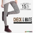 Stylish Leggings + Upto 15% Off !!!