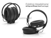 Folding Headphone MP3 Player with FM Radio (Wireless Audio Gadget)