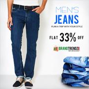 Denim Jeans + Flat 25% Off
