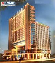 Omaxe office space mullanpur | 12% assured return | 9872107970