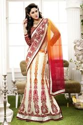 Pavitraa  Elegance Designer partywear Lahenga Saree