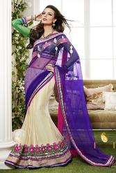 Pavitraa  Designer Patterened Lehenga Saree
