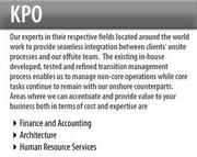 Outsourcing In India –Best KPO Services in India