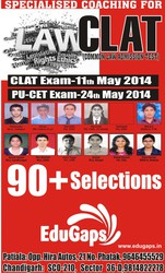 CLAT-LAW Entrance  Exam Classs in Chandigarh