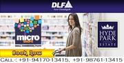 DLF Micro Shops | Wadhwa Property - 98761-13415