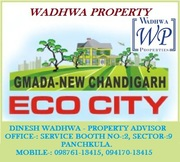 Eco City GMADA Plots Mullanpur Sale/Purchase @ Wadhwa Property
