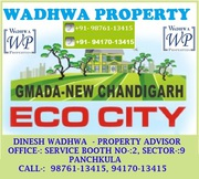 GMADA Plots Eco City Mullanpur Sale/Purchase @ Wadhwa Property