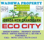 GMADA Plots Eco City Mullanpur Sale/Purchase @ Wadhwa Property