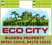 Eco City GMADA Plots New Chandigarh Sale/Purchase @ Wadhwa Property
