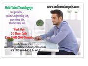 Copy Paste work-Online Jobs, Wanted home based internet job worker. Are