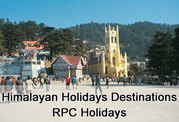 Himalayan Holidays Destination from RPC Holidays