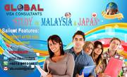 Malaysia and Japan Study,  Work & Professional Visa.