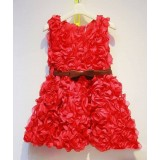 Baby Couture India-Always Valentine Rose Dress