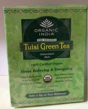 Buy ORGANIC TULSI GREEN TEA 50GM at CHD MART - Online Grocery Store
