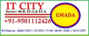 IT CITY Plots for sale in Mohali,  Gmada Approved. +91-9501112426