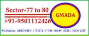 4 marla to 20 marla Sec 77 to 80 Plots for sale mohali Call-9501112426