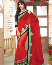 latest designer party wear saree-fabiyana