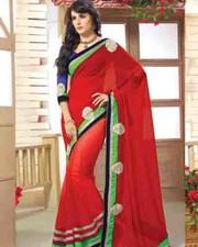 latest designer party wear saree-fabiyana