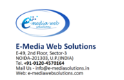 Digital Marketing Company Noida-E-Media Web Solutions