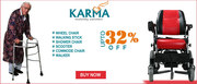 Upto 32% Off on Karma Mobility And Elderly Care Products at Healthgeni