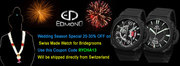 Special Bridal Offer by Edmond Watches Up To 30% Off