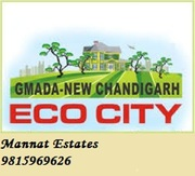 Plots up to 500 Sq yard on resale in Ecocity Mullanpur New Chandigarh