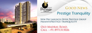 Prestige Tranquility Prestige group Bangalore projects