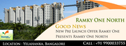 Ramky One North Bangalore apartments for sale
