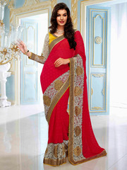 Buy Online Shopping indian Designer Sarees In Surat-India|At Parisworl