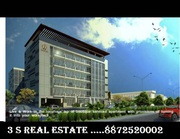 office space available in zirakpur at sushma atelier